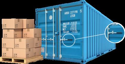 Storage container Easyopen doors